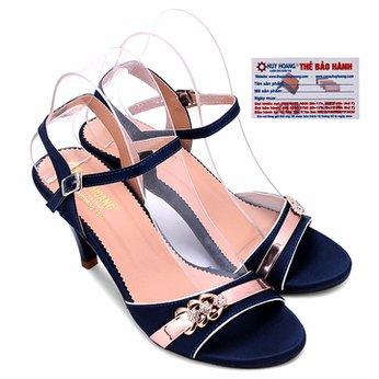 Giày sandal nữ huy hoàng màu xanh HG7064