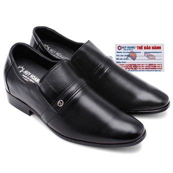 Giày tăng chiều cao Huy Hoàng màu đen HG7162