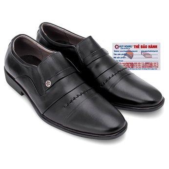 Giày tăng chiều cao Huy Hoàng màu đen HG7179