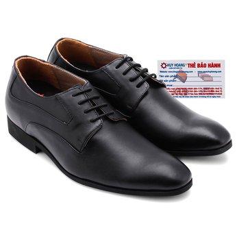 Giày tăng chiều cao Huy Hoàng màu đen HG7186