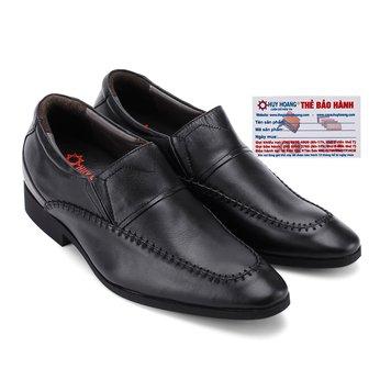 Giày tăng chiều cao Huy Hoàng màu đen HG7187