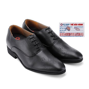 Giày tăng chiều cao Huy Hoàng màu đen HG7188
