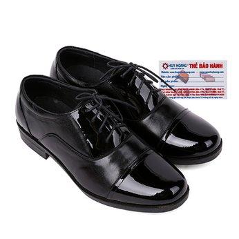 Giày tây nam Huy Hoàng màu đen HG7116