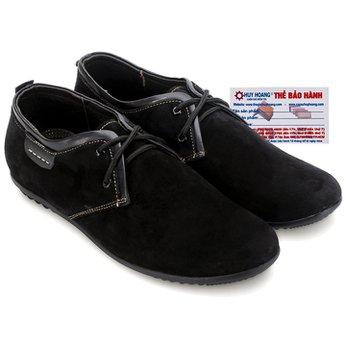 Giày thể thao Huy Hoàng cột dây màu màu đen HG7744
