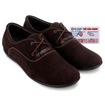 Giày thể thao Huy Hoàng cột dây màu màu nâu đất HG7745