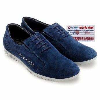 Giày thể thao Huy Hoàng cột dây màu màu xanh dương HG7750