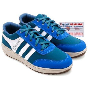Giày thể thao nam Huy Hoàng cột dây màu xanh dương HG7608