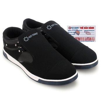 Giày thể thao nam Huy Hoàng màu đen - HG7601