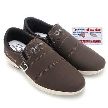 Giày thể thao nam Huy Hoàng màu nâu đất HG7603