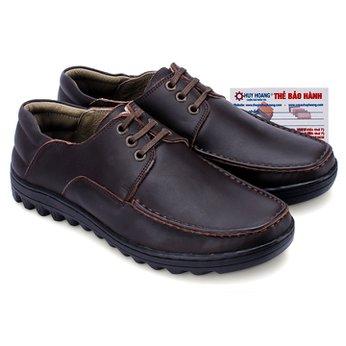 Giày thời trang Huy Hoàng có dây màu nâu HG7121