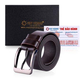 Thắt lưng nam bát gài bản lớn màu nâu HG4139