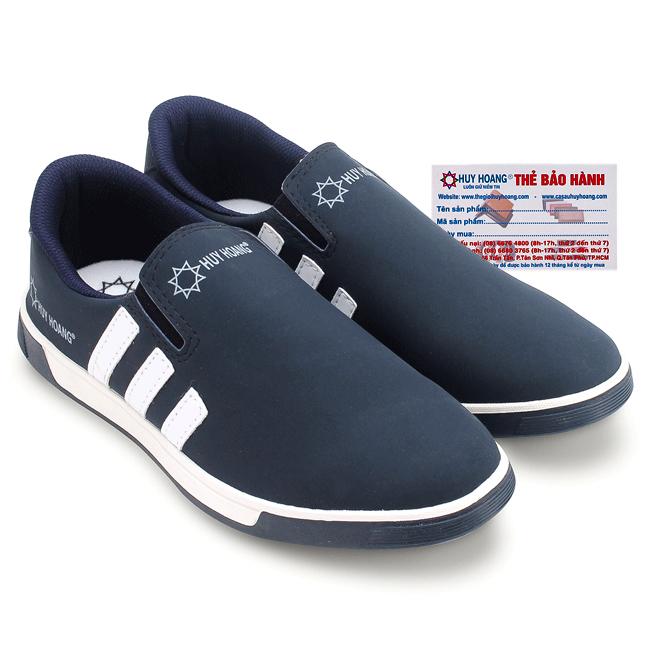 Giày thể thao nam Huy Hoàng màu xanh đen - HG7602