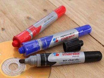 Bút bi - Viết xóa - Gôm tẩy - Bút cố định -Bút dạ quang - Bút gel - Bút lông dầu - Bút lông bảng - NPP VPP VĨNH THUẬN PHÁT