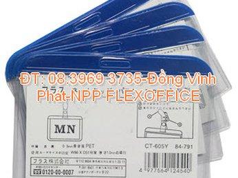 Bảng tên da - bảng tên nhân viên - dây đeo thẻ nhân viên - NPP FLEXOFFICE Đồng Vĩnh Phát -
