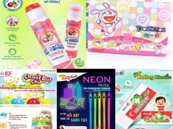 Combo sản phẩm đồ dùng học sinh