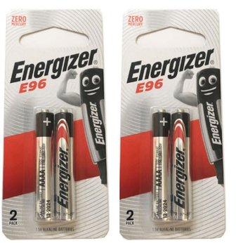 Pin AAAA (4A) E96 1.5V energizer alkaline vỉ 2 viên - mẫu mới 2020.