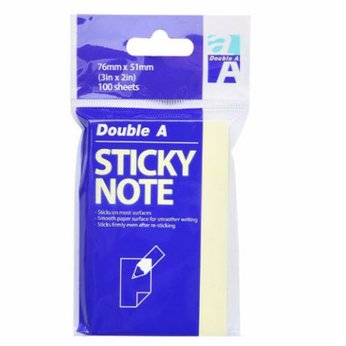 Giấy note DoubleA 3*2in (76*51mm)