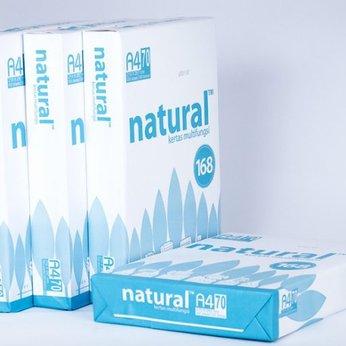 Giấy in Natural A4, định lượng 70gsm - 500 tờ
