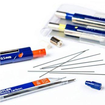 Ruột chì (lõi chì kim) STAEDTLER Mars® Micro Carbon 250 0.5-2B