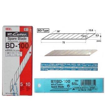 Lưỡi Dao Rọc Giấy NT BD-100 (30 độ)