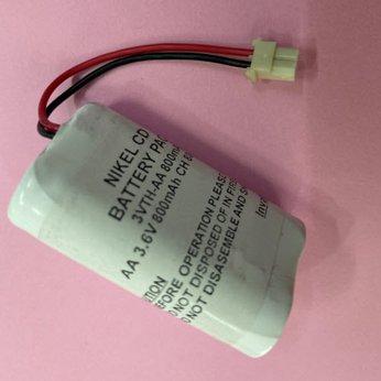 Pin ghép 3 viên - AA 3.6V - 800mAh