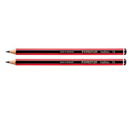 Bút chì đỏ đen STAEDTLER TRADITION 110 -2B