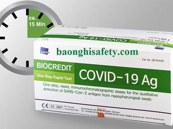 BIOCREDIT COVID-19 BỘ KIT TEST NHANH CHÍNH HÃNG