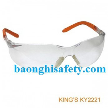 Kính bảo hộ KY 2221 màu trắng