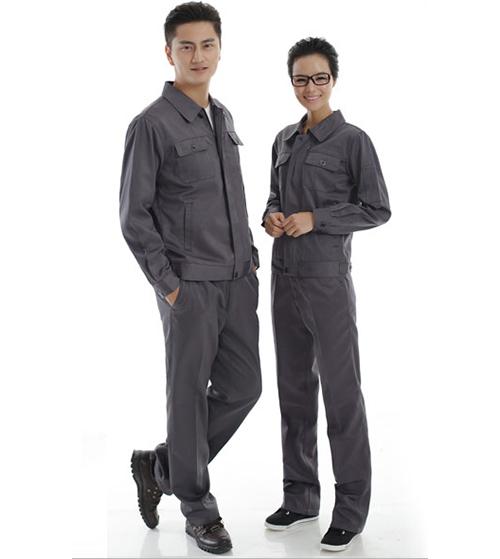Quần áo bảo hộ KaKi  màu ghi xám