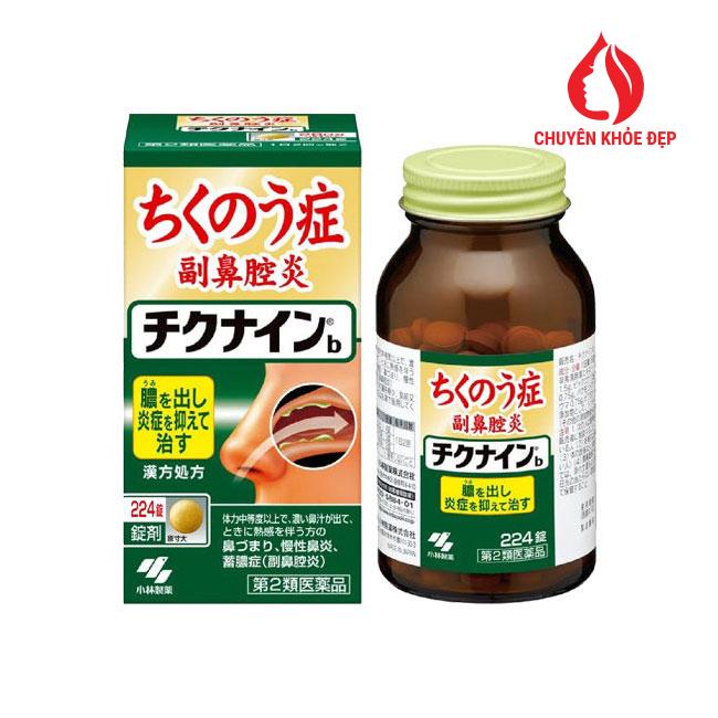 Viên uống đặc trị viêm xoang của Nhật Bản 224 viên loại nhỏ