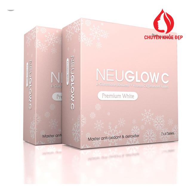 Neuglow C Premium White – Viên Sủi Trắng Da Hàng Đầu Anh Quốc