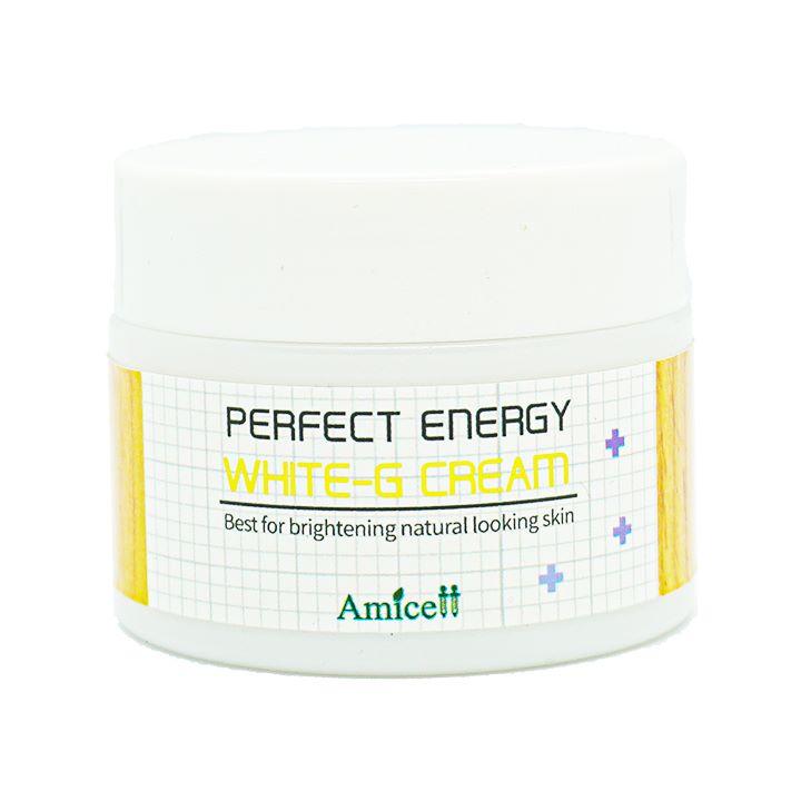 Kem dưỡng trắng da White G Cream Amicell