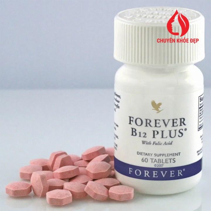 Thực phẩm bảo vệ sức khỏe Forever B12 Plus