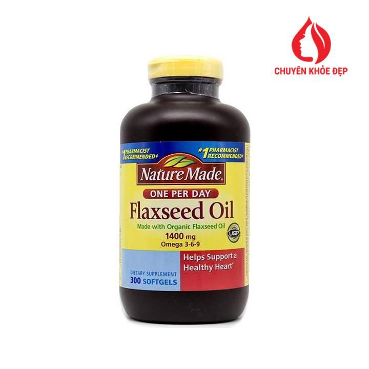 Viên uống dầu cá Nature Made Fish Oil 1200mg 200 viên