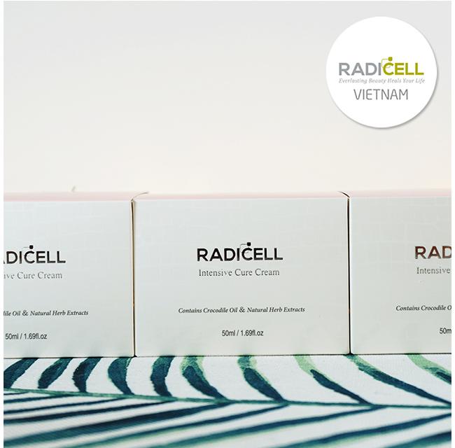 Kem dưỡng ẩm làm mịn da - phục hồi da hư tổn Intensive Cure Cream 50ml Radicell
