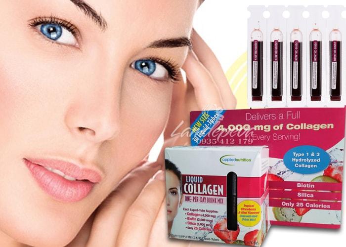 Liquid Collagen 30 ống dạng Nước Của Mỹ