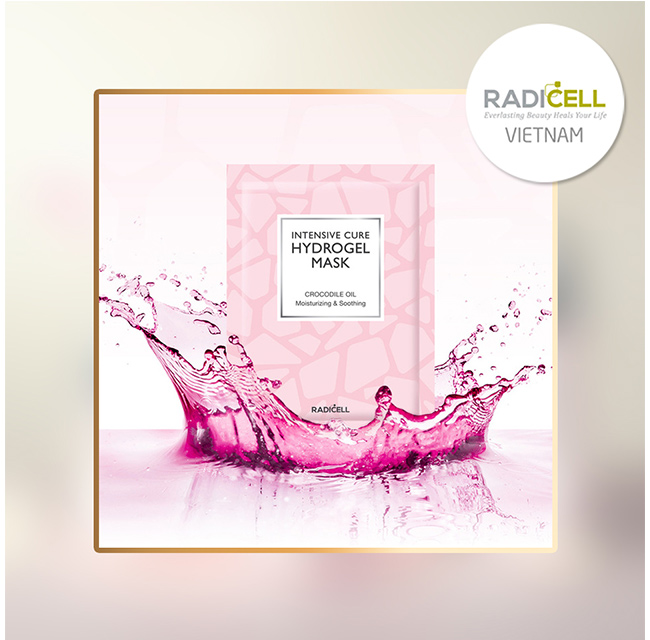 Mặt nạ chiết xuất từ mỡ cá sấu Radicell Intensive Cure Hydrogel Mask