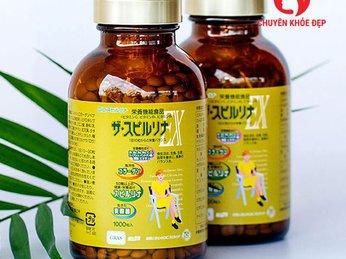 Viên uống vitamin tảo vàng - Dic Gras EX Vitamin 1000 viên của Nhật