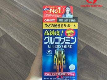 Thực phẩm chức năng - Viên uống hỗ trợ trị đau nhức xương khớp Glucosamine Orihiro