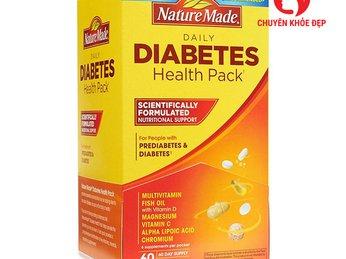 Viên uống cân bằng đường huyết Nature Made Diabetes Health Pack