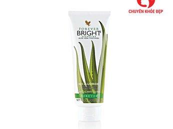 Kem đánh răng Forever Bright Toothgel có tác dụng gì