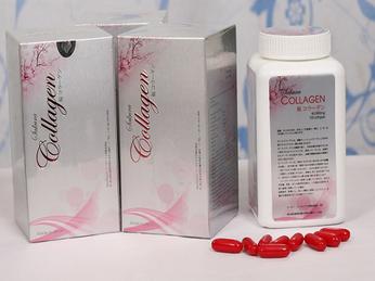 Viên uống dưỡng trắng da Collagen Sakura Nhật Bản 120 viên