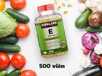 Viên Uống Đẹp Da - Vitamin E Kirkland Signature