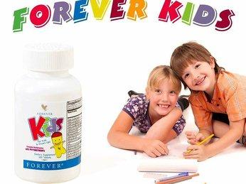 Forever Kids - kẹo bổ sung dinh dưỡng cho các em nhỏ