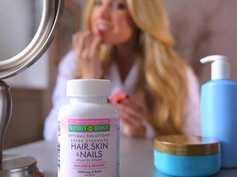 Vitamin làm đẹp da - tóc - móng Hair Skin and Nails Natures Bounty 150 viên