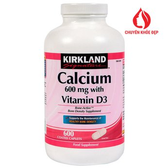 Kirkland Calcium 600mg With Vitamin D3 500 Viên