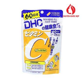 Viên uống DHC bổ sung Vitamin C 120 viên 60 ngày của Nhật Bản
