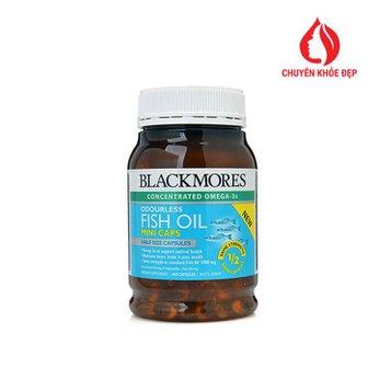 Viên uống dầu cá Blackmores Odourless Fish Oil Mini Caps 400 viên của Úc