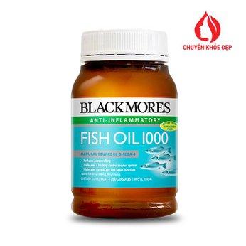 Viên uống Dầu cá Blackmores Omega 3 Fish Oil 1000mg 400 viên của Úc
