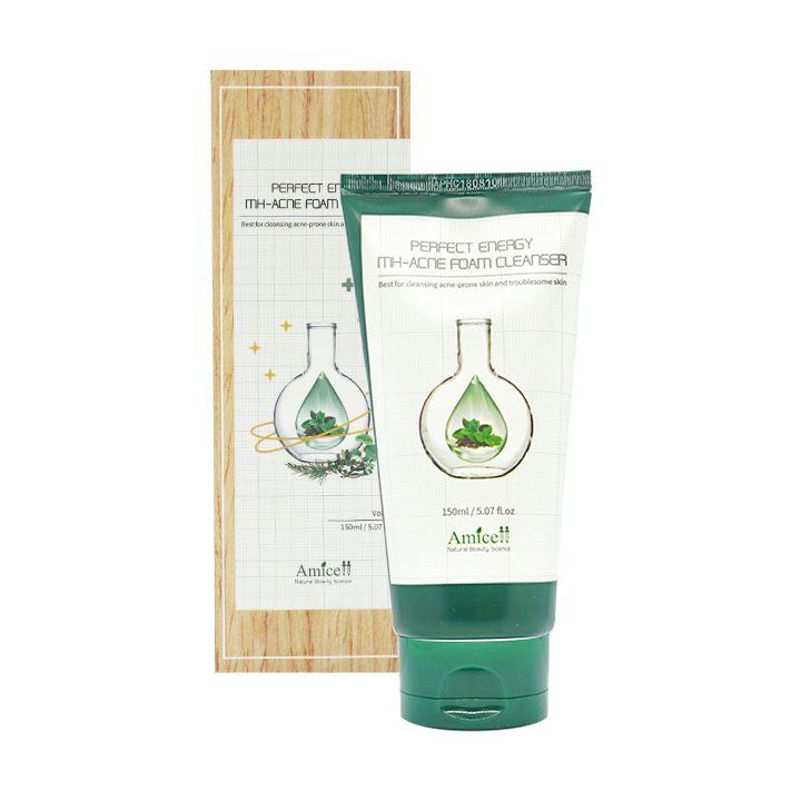 Sữa rửa mặt cho da mụn MH – Acne Foam Cleanser Amicell 150ml